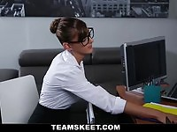 PunishTeens - Testing Out The New Secretary
