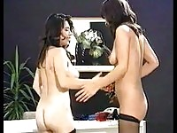 Pregnant milking lesbians