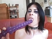 Anal toyed chick