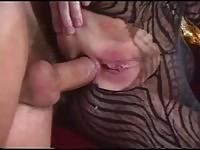 Liza Harper in anal
