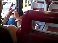 Wanking on the bus in Rome
