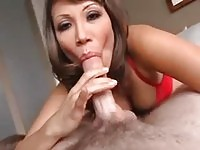 Ava Devine in deep throat