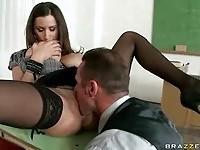 Student fuckign his teacher