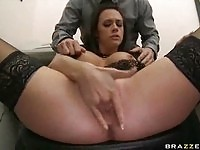 Busty Chanel Preston in action