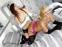 Sexy Ariel & Aaliyah posing
