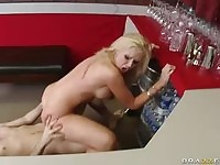 Sexy bitch punished for stealing tips