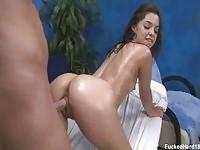 Lovely oiled Gigi  rammed