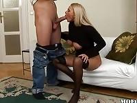 Milf gets attractive when undressed