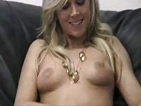 Chanel in porn casting movie