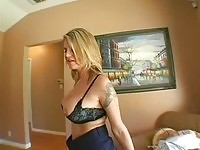Busty Kayla Quinn exposing boobs
