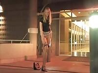 Katelynn strips in a public photoshoot