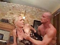 German MILF gets ass screwed by employee