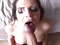 Bobbi Starr loves sucking huge cock