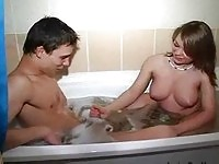 Bathroom amateur sex