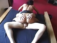 Hot wife loves deep anal sex