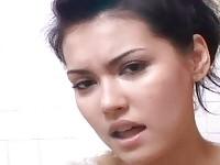 Bukkake facials with dildoing pornstar Maria Ozawa