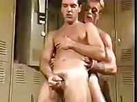 A vintage gay sex action