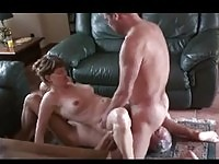 Mature Couple with Older Guy