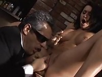 Eva Angelina fucked by a secret agent