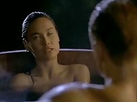 Gorgeous Tia Carrere pounded by Dolph Lundgren