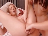 Anal sex loving lesbians go crazy