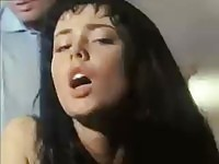 French Anita Dark in vintage anal