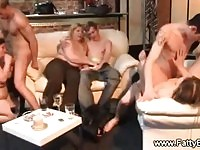Large ladies in some group fuck