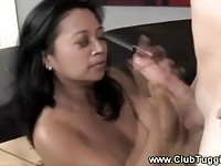 Cock loving Asian slut gets nailed