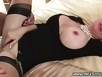 Busty mature babe fucked
