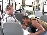 City bus gay action