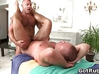 Mature gay action