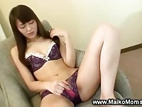 Sweet asian toying