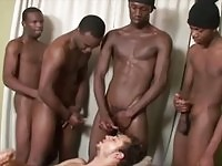 Guy doing black cocks