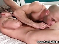 Muscles studs does cock gagging sixtynine
