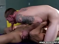 Hot studs in locker room action
