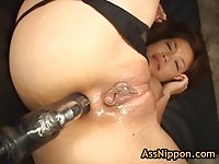 Asami Ogawa gets her pussy and ass stuffed with toys