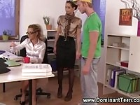Dominant office sluts in here