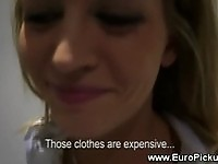 Boutique sales assistant gets naked for cash