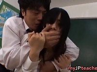 Japanese teacher forced into sex