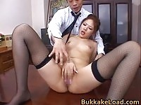 Kinky Aya Matsuki fingered until she squirts
