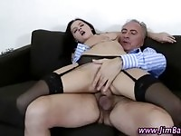 She loves old guys anD anal sex