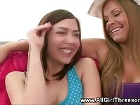 Lust loving lesbians kissing each other