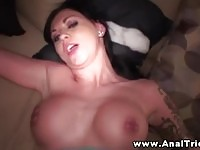 Hot amateur girlfriend wants to try anal sex