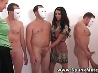Masked guys get wanked