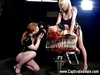 Two dirty mistresses in action