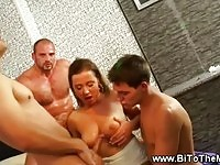 Dirty babes in bisexual party