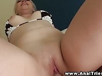 Sexy blonde babe loves riding on her boyfriend's cock
