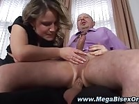 Dirty wife fuckig along her bisexual husband