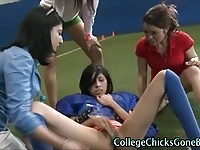 Real college teens masturbating and showing off their bodies