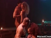 Hot and steamy passionate sex with some horny sluts
